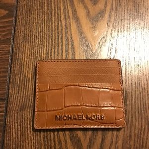 Michael Kors card case wallet